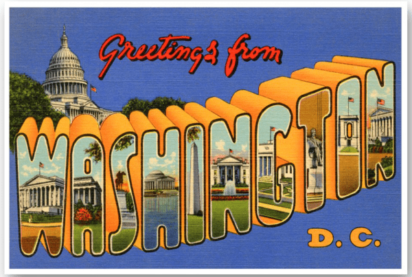 Washington, D.C. Vintage Postcard