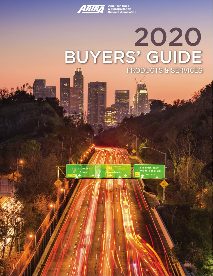 2020 ARTBA Buyers Guide Cover